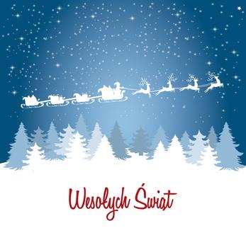 Życzenia na Święta Bożego Narodzenia i nadchodzący Nowy Rok